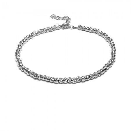 Dorika Model Kadın Gümüş Bileklik